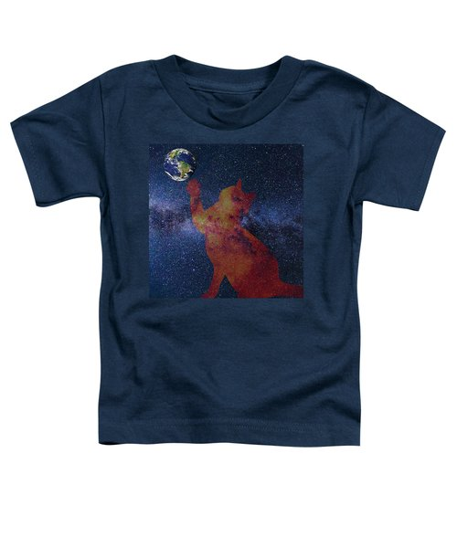 Star Cat Toddler T-Shirt