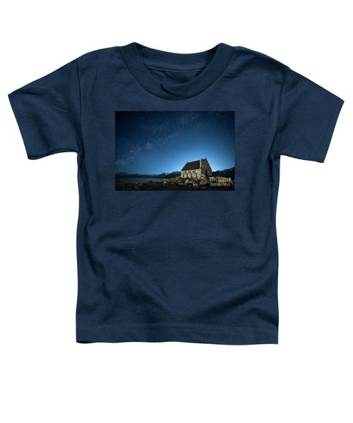 Stars And Midnight Blue Toddler T-Shirt