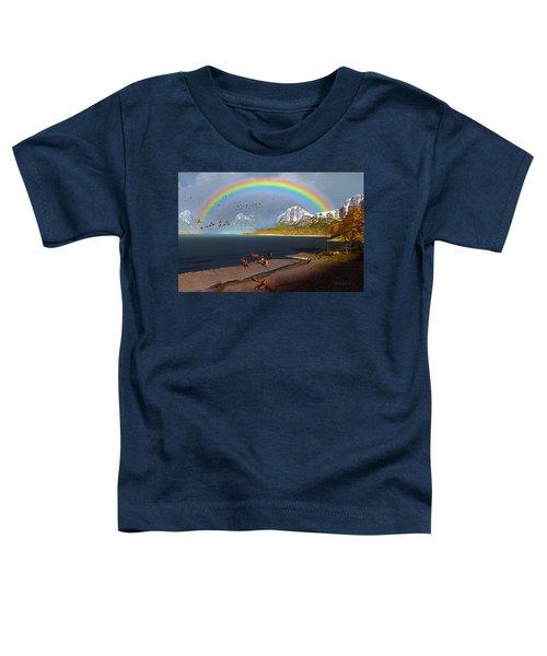 The Rings Of Eden Toddler T-Shirt