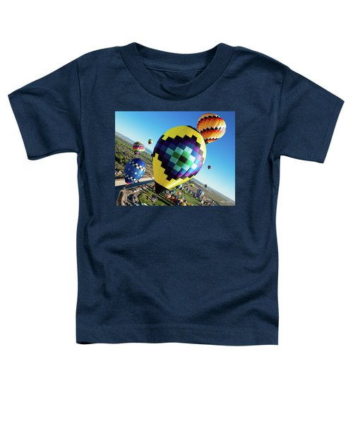 Up, Up, And Away Toddler T-Shirt