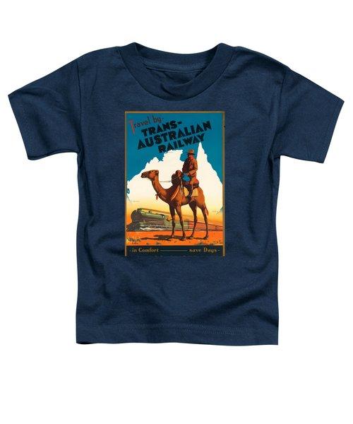 Vintage Travel Poster - Australia Toddler T-Shirt