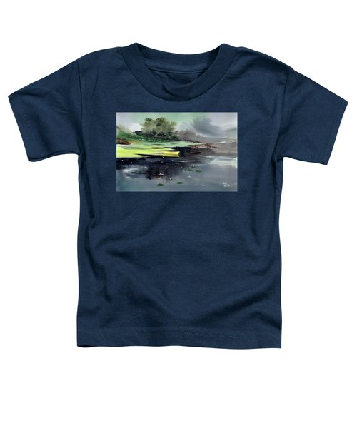 Yellow Boat Toddler T-Shirt