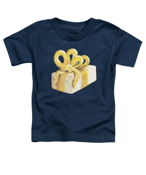 Yellow Present Toddler T-Shirt