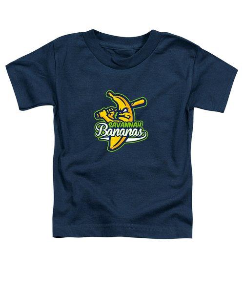 Yellow Savannah Bananas Cute Softball Sport T-shirt Toddler T-Shirt