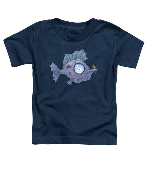 Zombie Fish Toddler T-Shirt