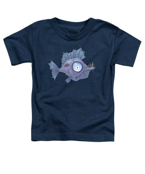 Zombie Fish Toddler T-Shirt
