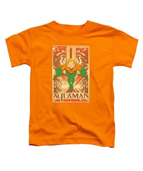 Dc - Aquaman Toddler T-Shirt