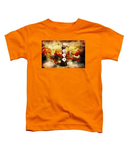 Fire On Lighthouse Hill Toddler T-Shirt