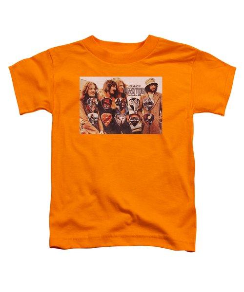 Led Zeppelin Art Toddler T-Shirt