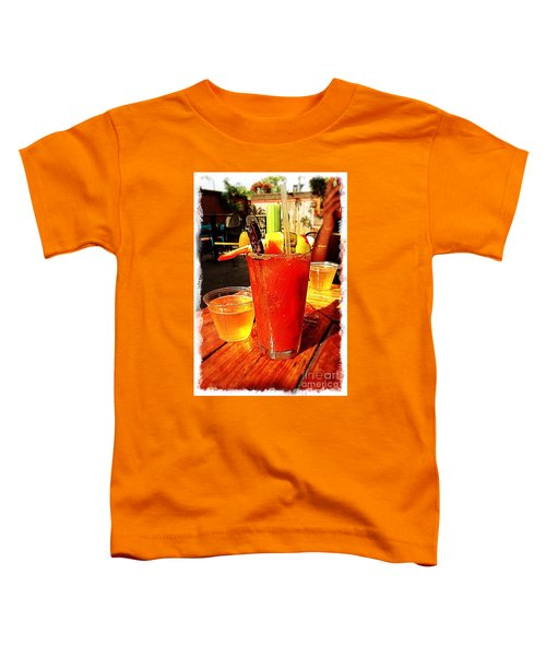 Morning Bloody Toddler T-Shirt by Perry Webster