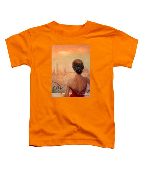 Visions Of Florence Toddler T-Shirt