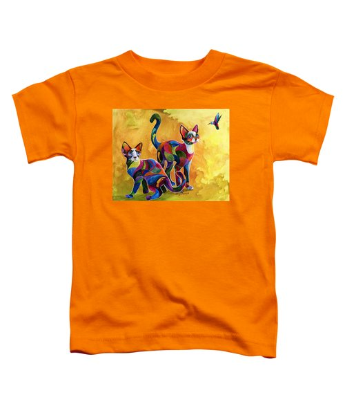 Watch The Birdie Toddler T-Shirt