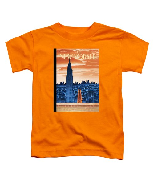 New Yorker January 12th, 2009 Toddler T-Shirt