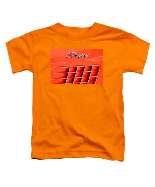 1972 Chevrolet Corvette Stingray Emblem 3 Toddler T-Shirt
