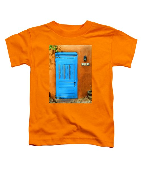 Blue Door In Santa Fe Toddler T-Shirt
