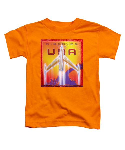 Discover The Usa Toddler T-Shirt