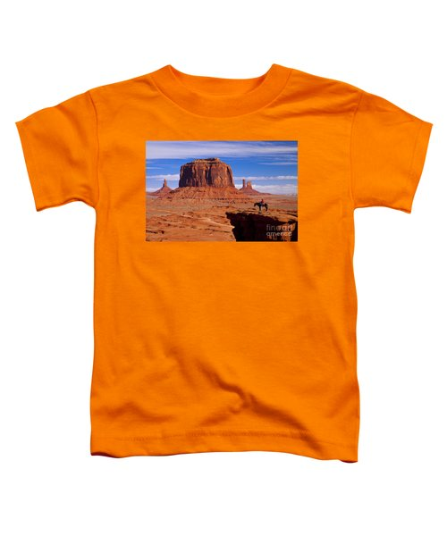 John Ford Point Monument Valley Toddler T-Shirt