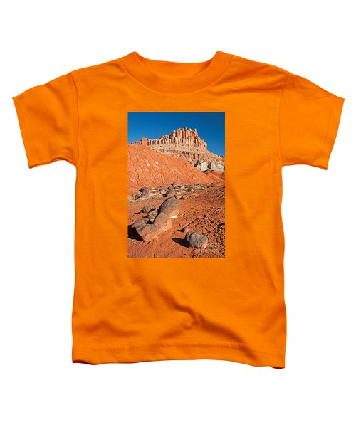 The Castle Capitol Reef National Park Toddler T-Shirt