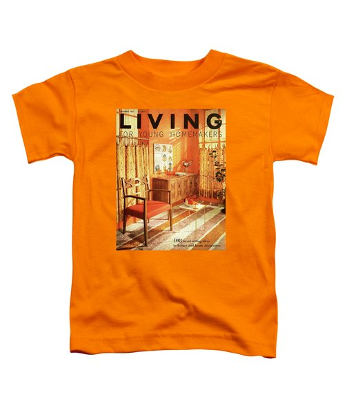 A Living Room With Furniture By Mt Airy Chair Toddler T-Shirt