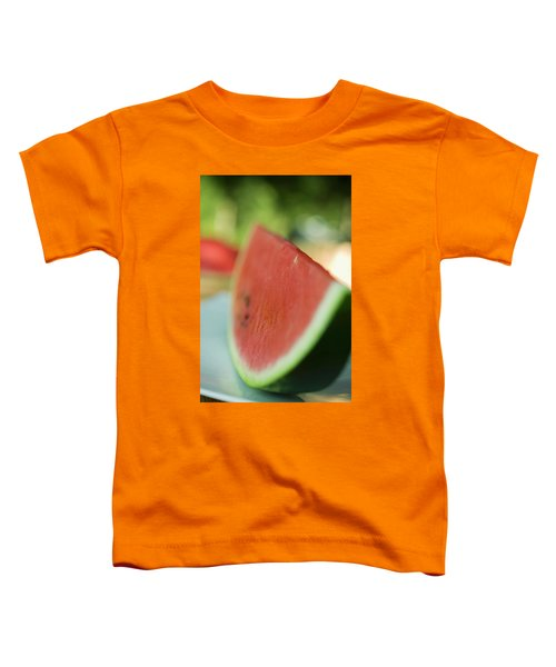 A Slice Of Watermelon Toddler T-Shirt
