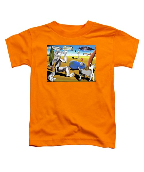 Abstract Surrealism Toddler T-Shirt