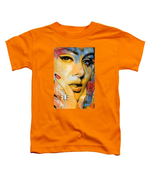 Adele Toddler T-Shirt by Corporate Art Task Force