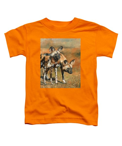 African Wild Dogs Toddler T-Shirt