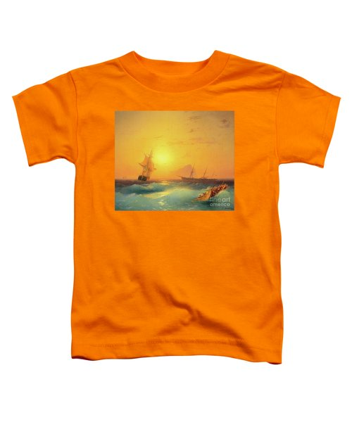 American Shipping Off The Rock Of Gibraltar Toddler T-Shirt