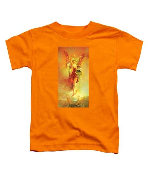 Angel Of Abundance - Fortuna Toddler T-Shirt