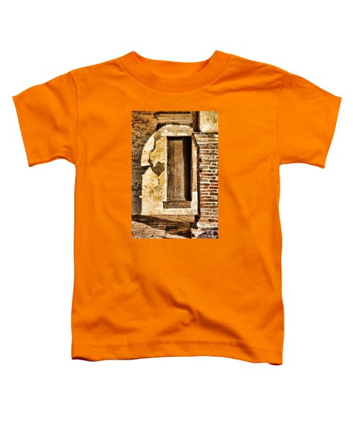 Arched Shadow By Diana Sainz Toddler T-Shirt