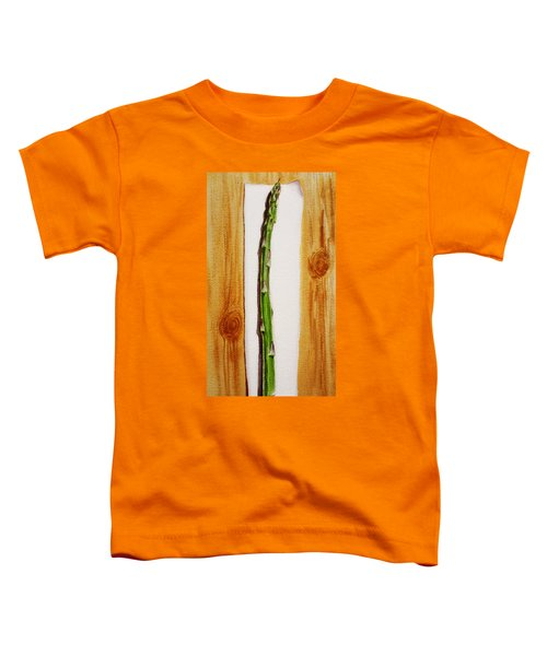 Asparagus Tasty Botanical Study Toddler T-Shirt