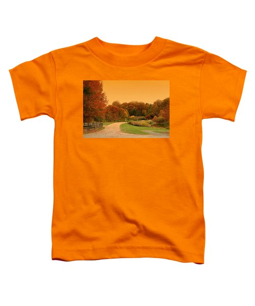 Autumn In The Park - Holmdel Park Toddler T-Shirt