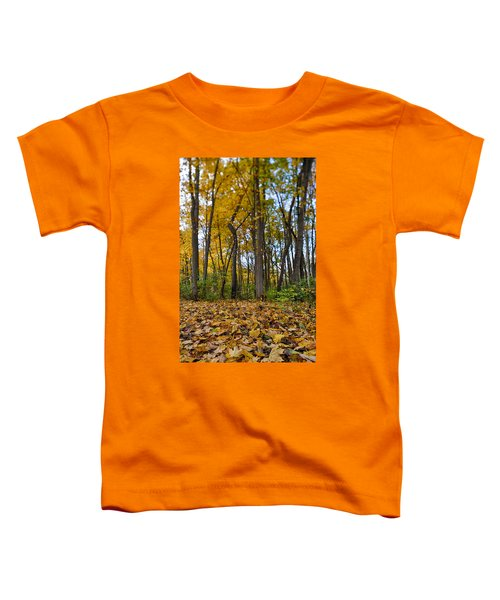 Toddler T-Shirt featuring the photograph Autumn Is Here by Sebastian Musial