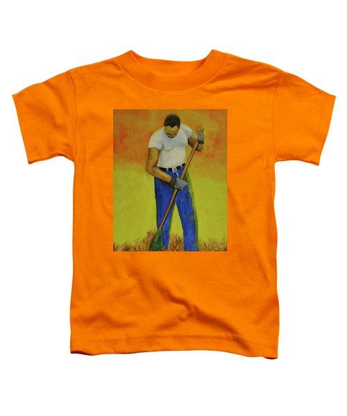 Autumn Raking Toddler T-Shirt