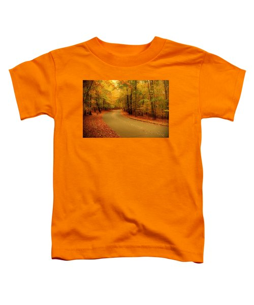 Autumn Serenity - Holmdel Park  Toddler T-Shirt