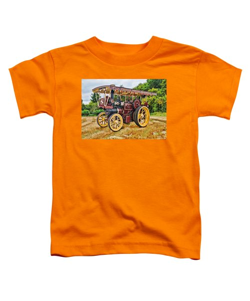 Aveling And Porter Showmans Tractor Toddler T-Shirt