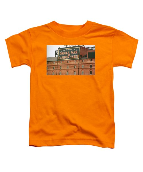 Baltimore Orioles Park At Camden Yards Toddler T-Shirt