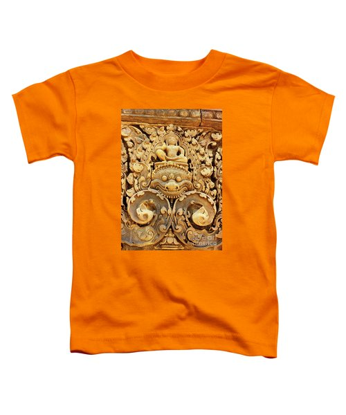 Banteay Srei Carving 01 Toddler T-Shirt