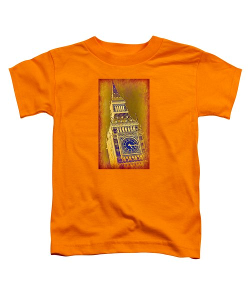 Big Ben 3 Toddler T-Shirt by Stephen Stookey