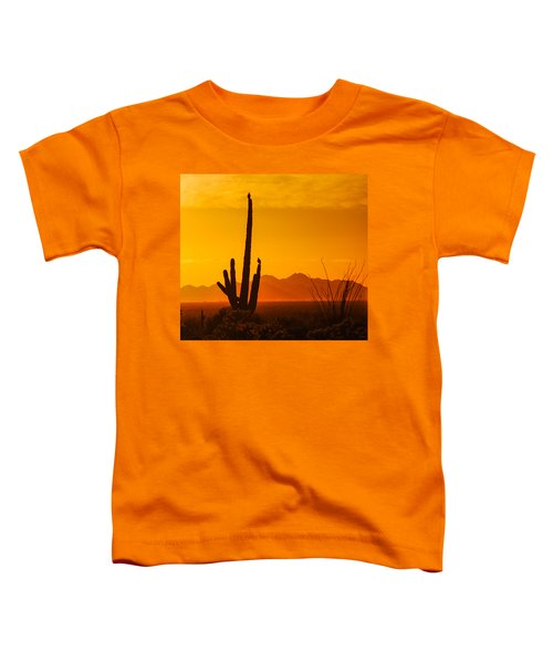 Birds In Silhouette Toddler T-Shirt
