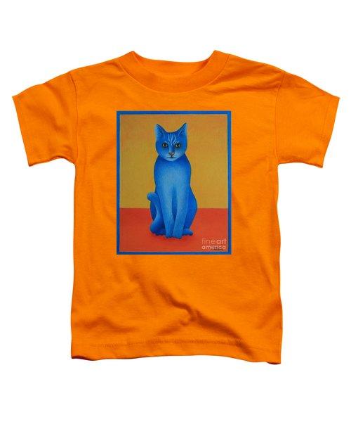 Blue Cat Toddler T-Shirt