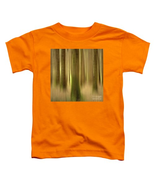 Blurred Trunks In A Forest Toddler T-Shirt