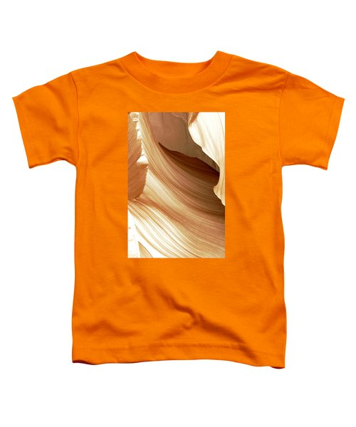 Butterscotch Taffy Antelope Canyon Toddler T-Shirt