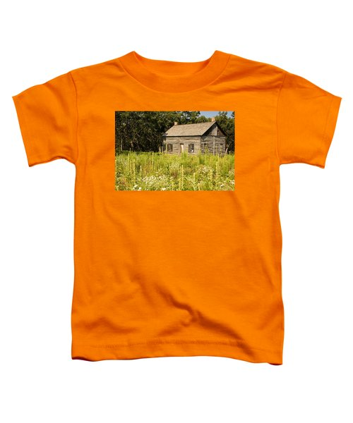 Cabin In The Prairie Toddler T-Shirt