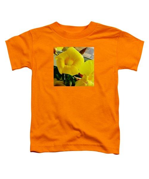 Canario Flower Toddler T-Shirt