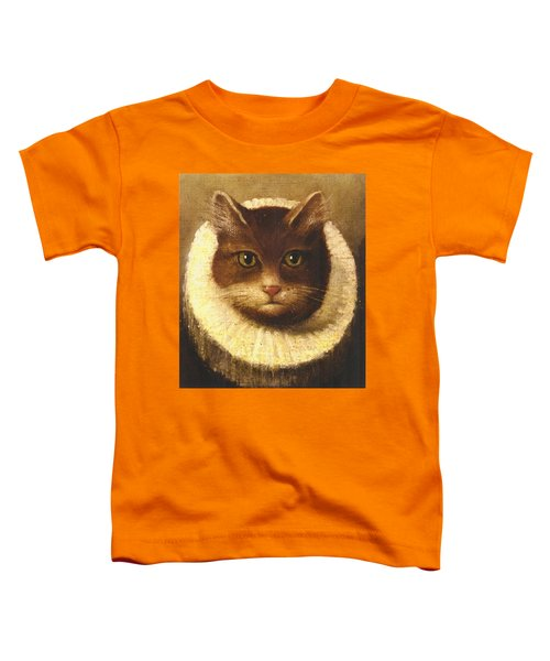 Cat In A Ruff Toddler T-Shirt