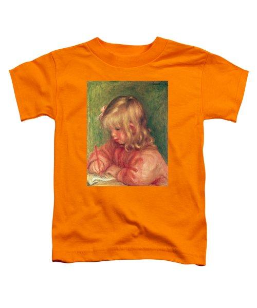 Child Drawing Toddler T-Shirt