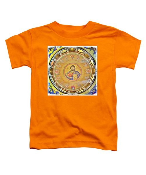 Christ Pantocrator -- Church Of The Holy Sepulchre Toddler T-Shirt