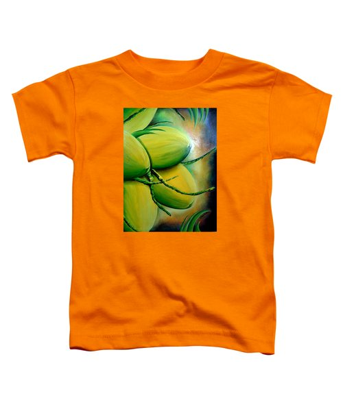 Coconut In Bloom Toddler T-Shirt