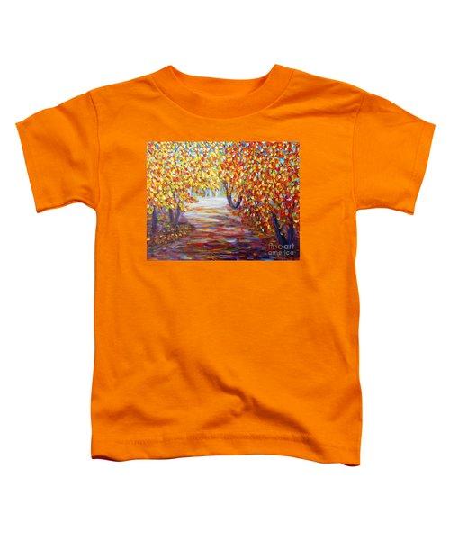 Colorful Autumn Toddler T-Shirt
